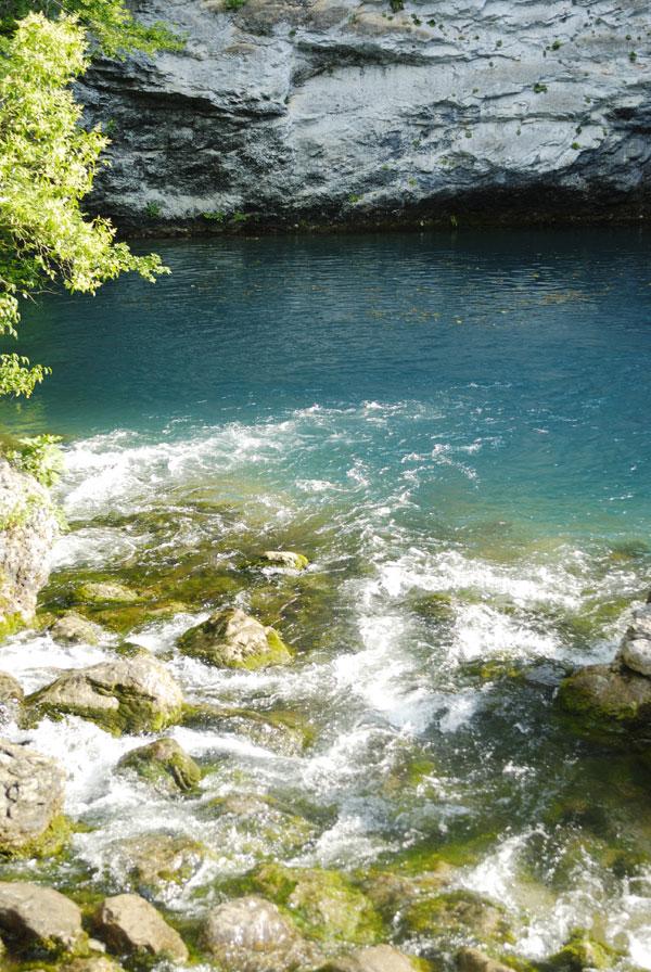 Голубое озеро. Абхазия.