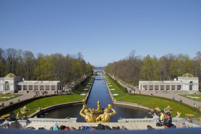Петергоф без фонтанов